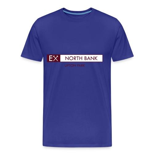 Ex - North Bank mens sky retro T-shirt - Men's Premium T-Shirt