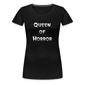 Queen of Horror - Frauen Premium T-Shirt