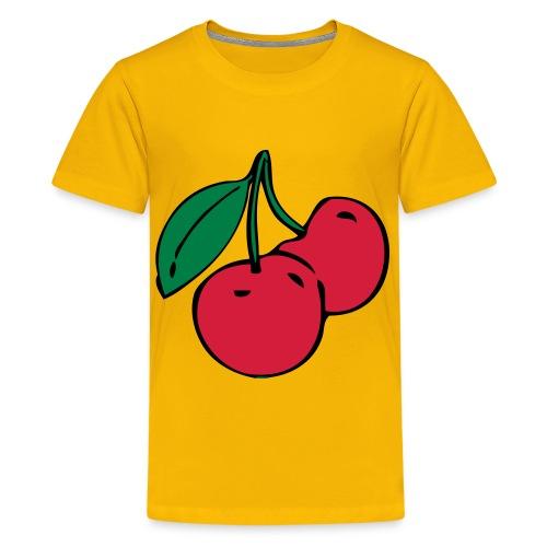 cherryshirt - Premium-T-shirt tonåring