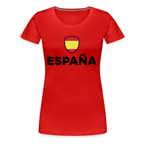 love spain - Women's Premium T-Shirt