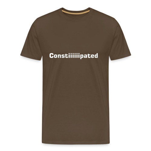 Constiiiiipated - Men's Premium T-Shirt