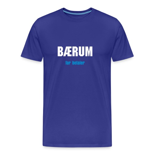 Bærum T skjorte - Men's Premium T-Shirt