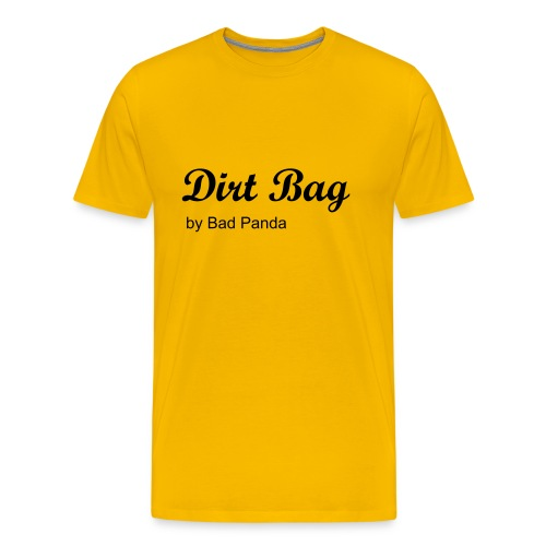 db in yellow - Men's Premium T-Shirt