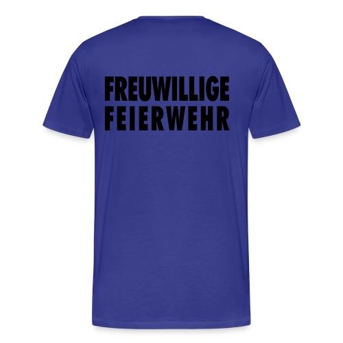 feierwehr - Männer Premium T-Shirt