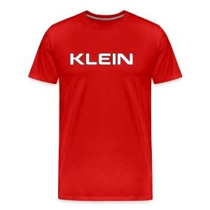 KLEIN Mens T-Shirt - Männer Premium T-Shirt