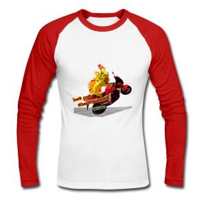 Let out the wildcat, baseballshirt - Langærmet herre-baseballshirt
