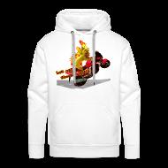 Sweatshirts ~ Herre Premium hættetrøje ~ Let out the wildcat, sweatshirt
