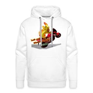 Let out the wildcat, sweatshirt - Herre Premium hættetrøje