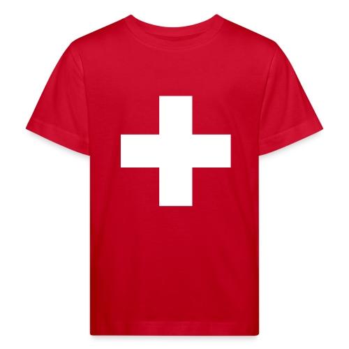 Schweizerkreuz-Kindershirt - Kinder Bio-T-Shirt