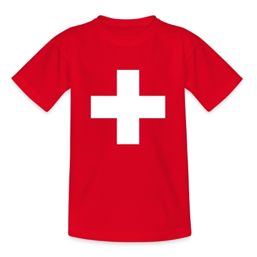 Schweizerkreuz-Kindershirt - Kinder T-Shirt