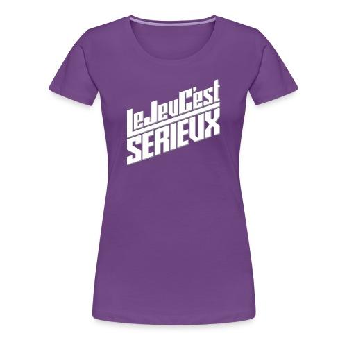 Le jeu c'est sérieux - Classique Femme - T-shirt Premium Femme