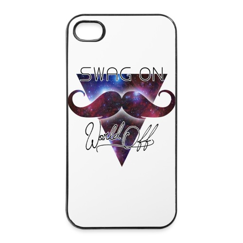Swag on world off - Coque rigide iPhone 4/4s