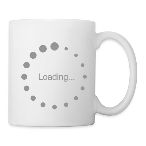 Loading... - Mug blanc