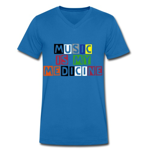 Life is limited so live it loud - Men's Organic V-Neck T-Shirt by Stanley & Stella