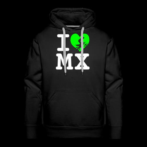 I love MX - Sweat-shirt à capuche Premium pour hommes