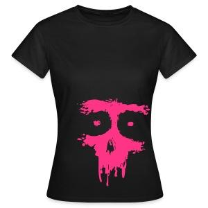 pink skull - Frauen T-Shirt