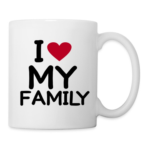 Love My Family Mug - Mug