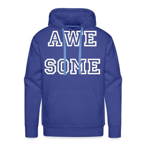 AWESOME sweater MEN - Mannen Premium hoodie