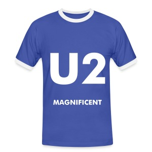 fs_u2_magnificent_w - Men's Ringer Shirt