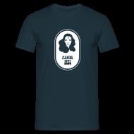 T-Shirts ~ Männer T-Shirt ~ FB Head + Logo White