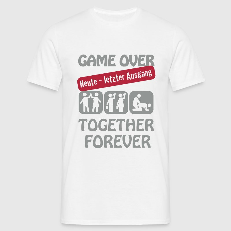 Jga game over t shirt spreadshirt for Jga t shirt sprüche