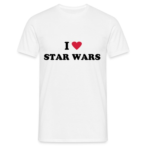 I LOVE STAR WARS HOMME - T-shirt Homme