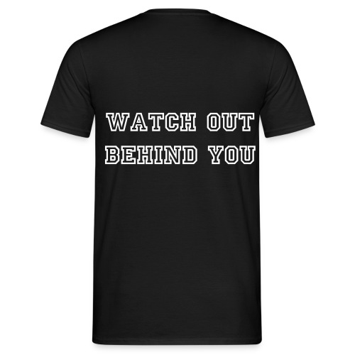 Powerkinght | Watch Out - Herre T-shirt - Herre-T-shirt
