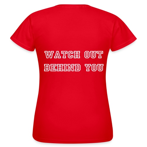 Powerkinght | Watch Out - Dame T-shirt - Dame-T-shirt