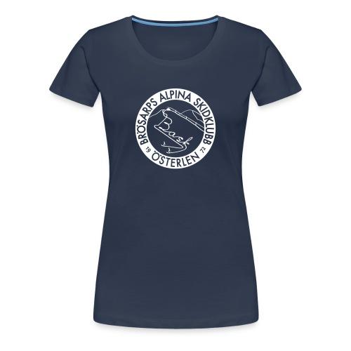 T-shirt - emblem (dam) - Premium-T-shirt dam