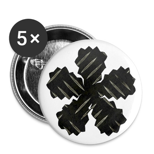 AAW - Buttons small 1''/25 mm (5-pack)