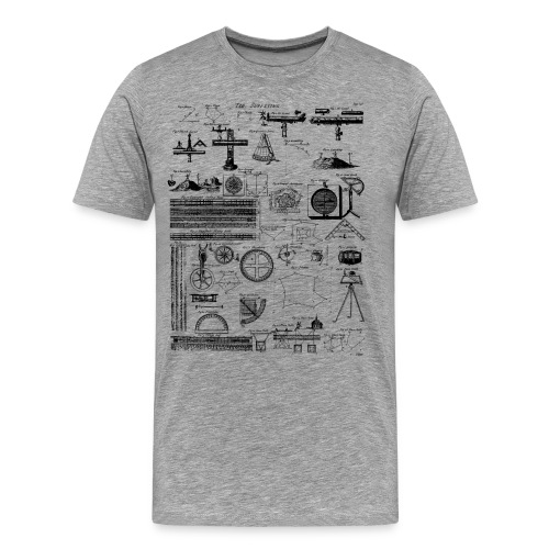 Table of Surveying - Men's Premium T-Shirt