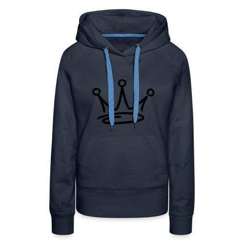 Women hoodie - Premiumluvtröja dam
