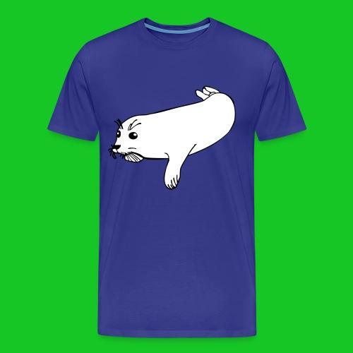 Zeehond shirt man - Mannen Premium T-shirt