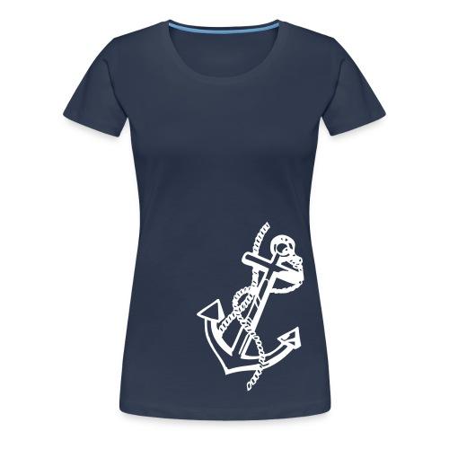 NAVY! - Women's Premium T-Shirt