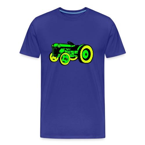 Trraktor! herreskjorte - Premium T-skjorte for menn