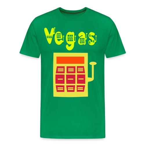 slot VEGAS T-shirt - Men's Premium T-Shirt