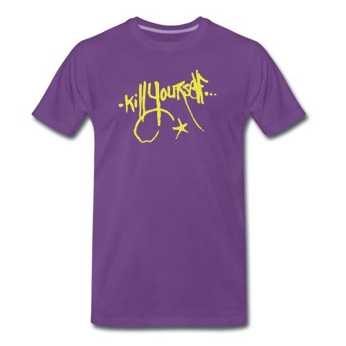 Kill Yourself - Mannen Premium T-shirt