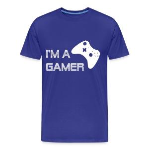 Im a Gamer 360 - Men's Premium T-Shirt