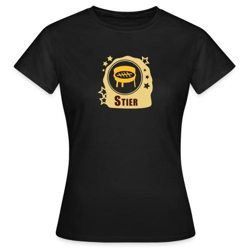Sternzeichen Stier - Frauen T-Shirt