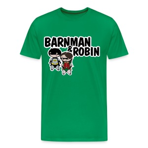 Camiseta How I met your mother, barnman y robin - chico manga larga - Camiseta premium hombre