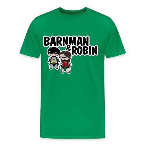 Camiseta How I met your mother, barnman y robin - chico manga larga - Camiseta premium hombre