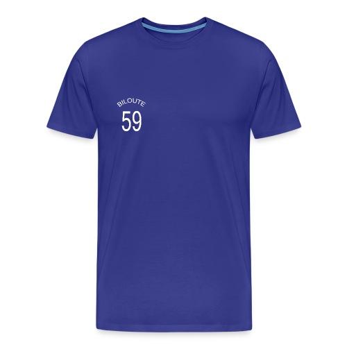 Maillot de foot BILOUTE 59 bleu Homme - T-shirt Premium Homme