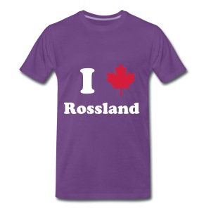I heart Rossland - Men's Premium T-Shirt
