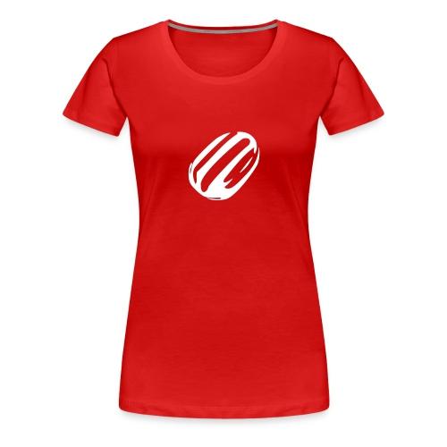 White humbug women's T shirt - Women's Premium T-Shirt