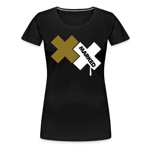 Marked Women - Women's Premium T-Shirt