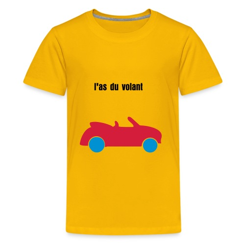 l'as du volant - T-shirt Premium Ado