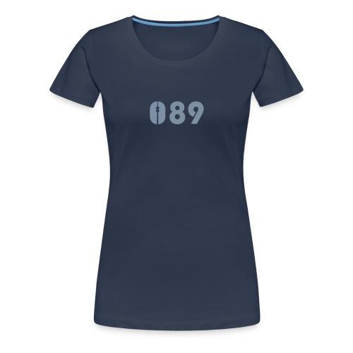 089 SHIRT SILBER-MATT - Frauen Premium T-Shirt
