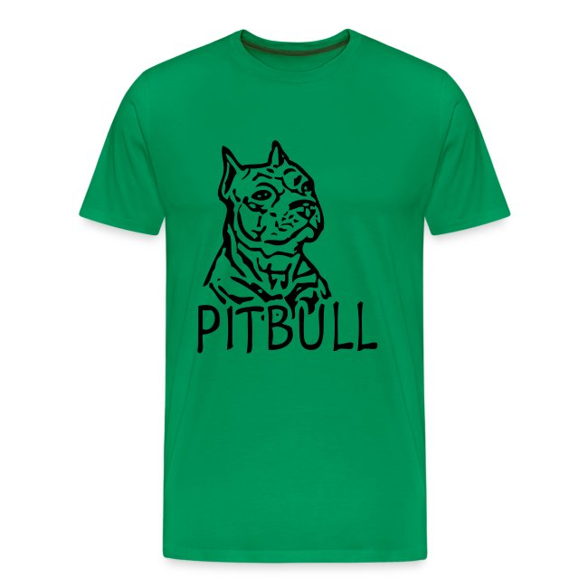 Mens 'Pitbull' T-shirt