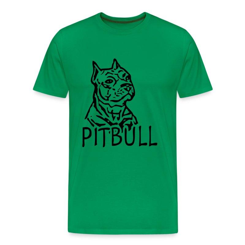 Mens 'Pitbull' T-shirt - Men's Premium T-Shirt