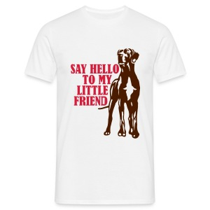 Mens 'Say Hello to My Little Friend' T-Shirt - Men's T-Shirt
